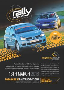 RallyTrackDay-Poster - 16 March Pendle